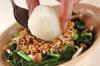 ホウレン草の納豆おろしの作り方の手順3