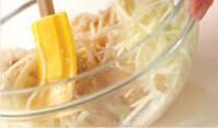 セロリと新ジャガのタラコサラダの作り方の手順3