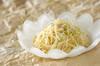 セロリと新ジャガのタラコサラダの作り方の手順