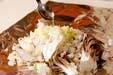 キノコのホイル蒸しの作り方9