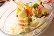 リンゴのかつお節サラダの作り方1