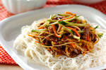 ビビンバ素麺