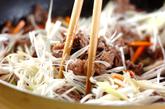ビビンバ素麺の作り方2
