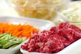 ビビンバ素麺の下準備2