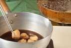 ナスと鶏肉の揚げ煮の作り方3