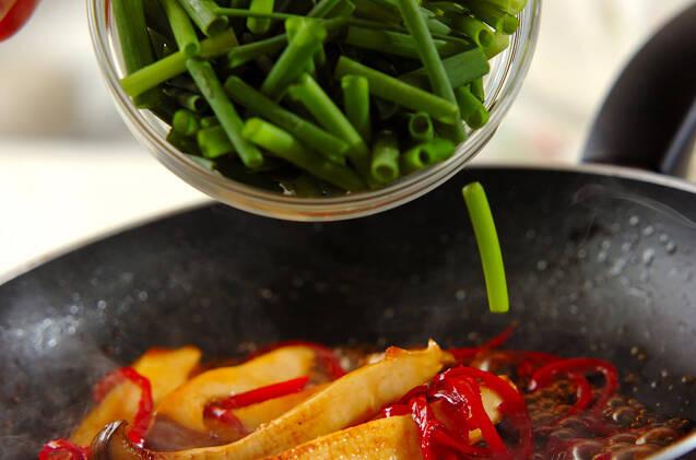 エリンギの焼肉風炒めの作り方の手順5