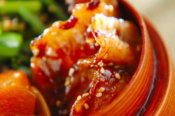 豚肉の甘酢焼き