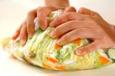 白菜の刻み漬けの作り方1