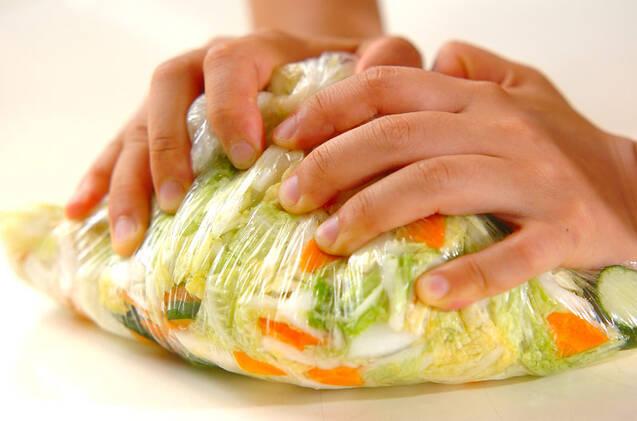 白菜の刻み漬けの作り方の手順5