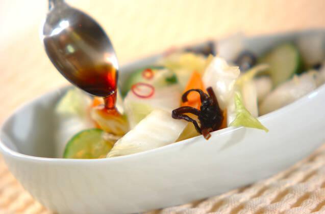 白菜の刻み漬けの作り方の手順6