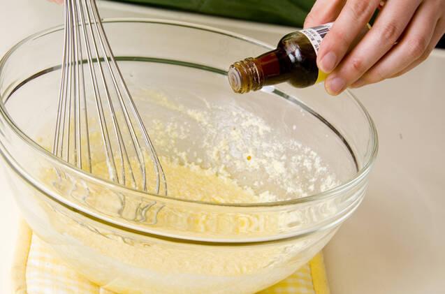 レンジミニケーキの作り方の手順2
