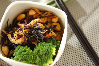 ヒジキと大豆の煮物