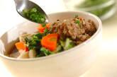 肉団子と野菜の煮物の作り方9