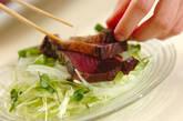 カツオのたたきサラダ風の作り方8