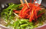 キノコ入り青椒肉絲の作り方3