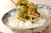 野菜のピリ辛甘酢塩麹漬けの作り方3