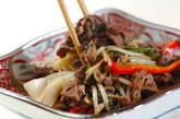 牛肉と野菜のソース炒めの作り方9