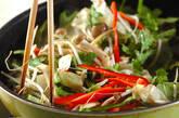 牛肉と野菜のソース炒めの作り方8