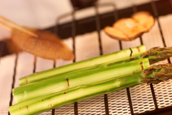 牛タンと野菜の網焼きの作り方の手順2