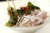 もずくと大根の美サラダそばの作り方7