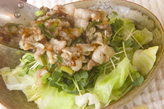 野菜のネギ豚ソースの作り方4