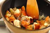 手作りクルトンのシーザーズサラダの作り方5