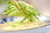 キュウリの中華味の作り方1