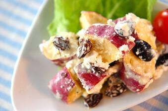 サツマイモのデリ風サラダ