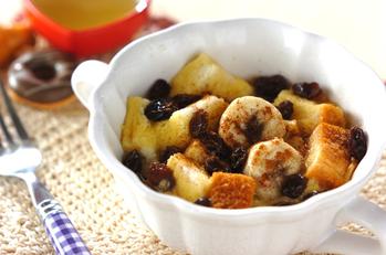 朝食にぴったり♪バナナdeパンプディング