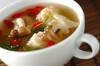 エビワンタンスープの作り方の手順