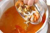 海鮮スープの作り方2