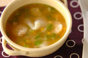 ホタテバターのみそスープ