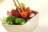 海藻と豆腐サラダの作り方1