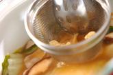 酒粕風味のみそ汁の作り方3