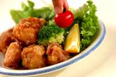 鶏の唐揚げの作り方3