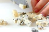 ブルーチーズのパスタの作り方1