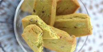 抹茶と小豆のショートブレッド
