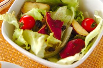 サツマイモのサラダ