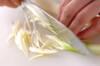 キャベツと厚揚げの炒め物の作り方の手順2
