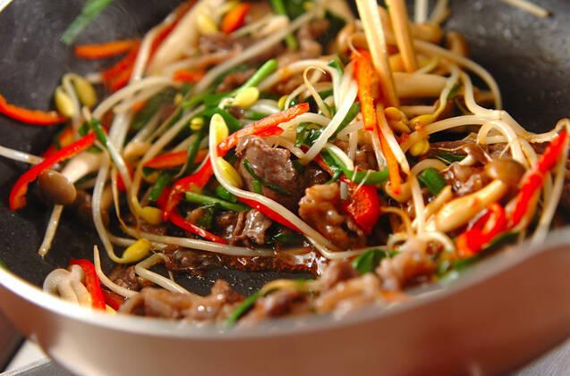 野菜たっぷりプルコギご飯の作り方の手順8