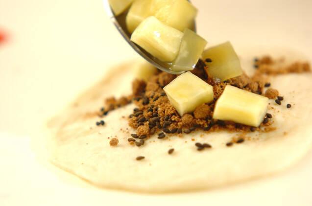 サツマイモのホットックの作り方の手順9
