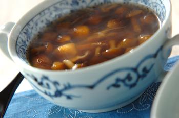 シイタケのスープ