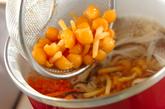 シイタケのスープの作り方1