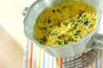 白菜とツナのカレーミルクスープ