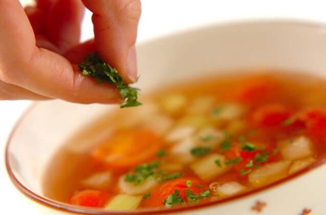 トマトスープの作り方の手順5