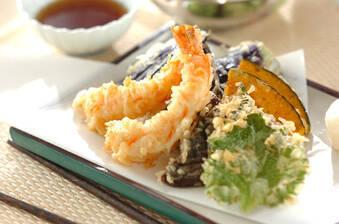 誰でも失敗しらず!サクサクエビと野菜の天ぷら