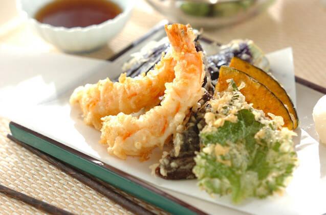 サクサク海老の天ぷら