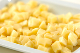 ジャガバターご飯の下準備2