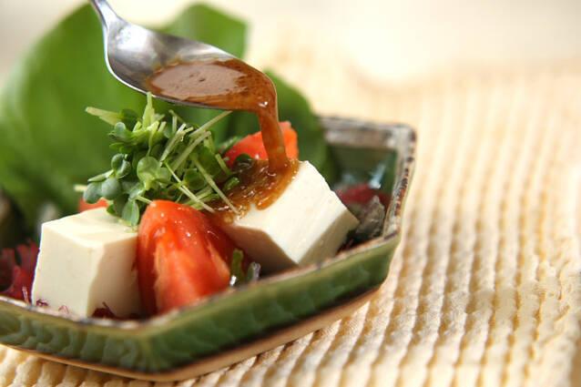 豆腐サラダの作り方の手順7