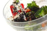 芽ヒジキのマヨ白和えの作り方2